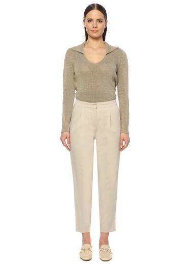 NetWork Kadın 1073865 Slim Fit Pantolon Bej